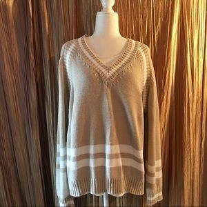 Vintage Forenza Tan Oversized Sweater Size Large